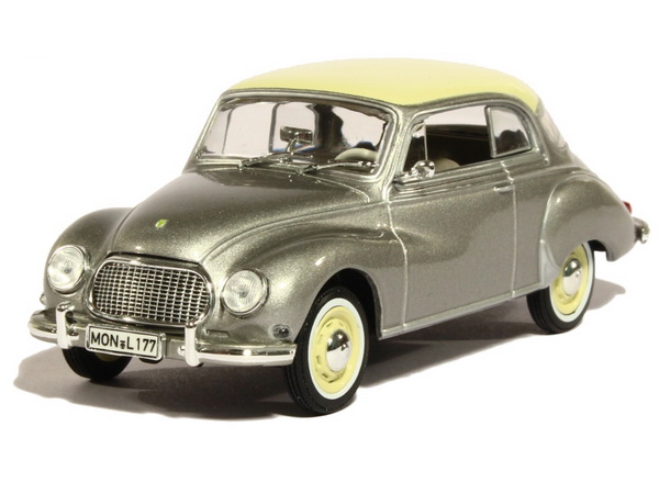 Модель 1:43 Auto Union 3=6 Coupe - grey/white