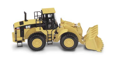 Модель 1:50 Caterpillar 980G Wheel Loader with Loader Bucket