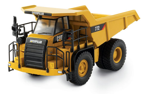 Модель 1:50 Caterpillar 772 Off-Highway Haul Truck