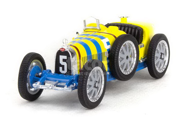 Модель 1:43 Bugatti Type 35 Suède No5 NATION COULOR PROJECT SWEDEN 1924