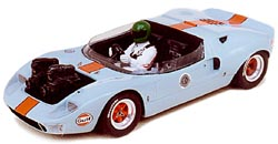 Модель 1:43 Ford GT40 «Gulf» Travelling car Le Mans H.Pescarolo 2 cameras capot avant KIT