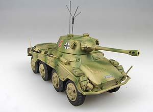 Модель 1:72 SD.KFZ.234/2 ~PUMA~ №415 unidentified unit France