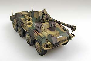 Модель 1:72 SD.KFZ.234/4 unidentified unit Prague