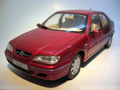 Модель 1:18 Citroen Elysee (China) - red