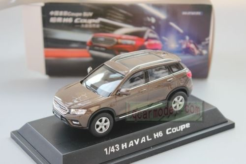 Модель 1:43 Great Wall Haval H6 Coupe - brown