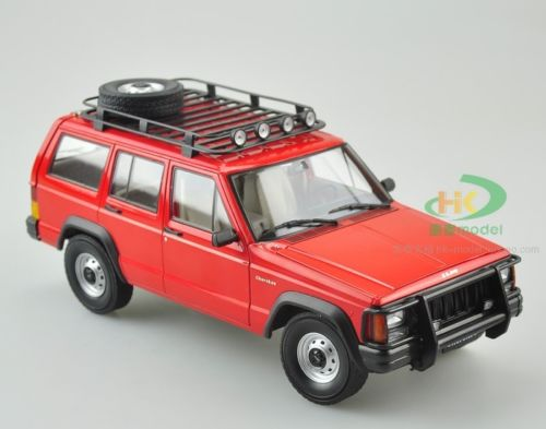 Модель 1:18 Jeep Cherokee (Beijing) 2500 - red