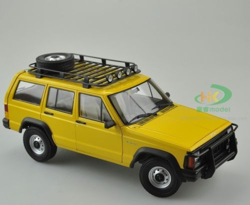 Модель 1:18 Jeep Cherokee (Beijing) 2500 - yellow