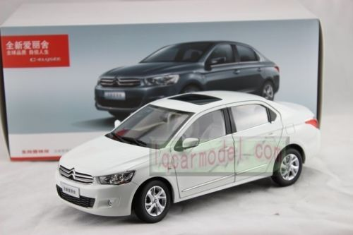 Модель 1:18 Citroen C-Elysee (China) - white