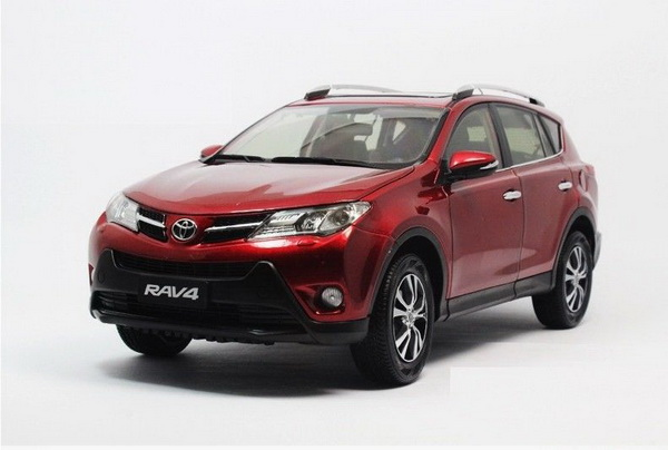 Модель 1:18 Toyota RAV4 - red