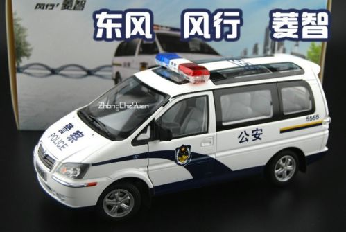 Модель 1:18 Mitsubishi Delica L400 Super exceed - China Police (DongFeng)
