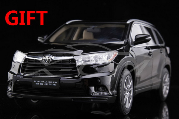 Модель 1:18 Toyota Highlander - black