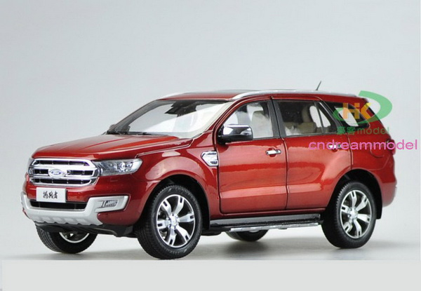 Модель 1:18 Ford Everest - red