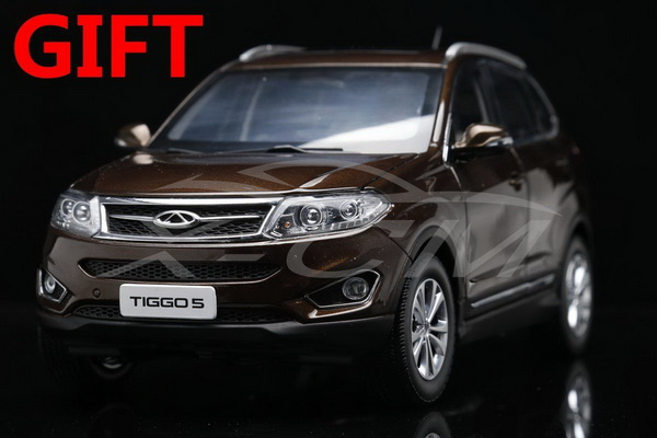 Модель 1:18 Chery tiggo 5 - brown