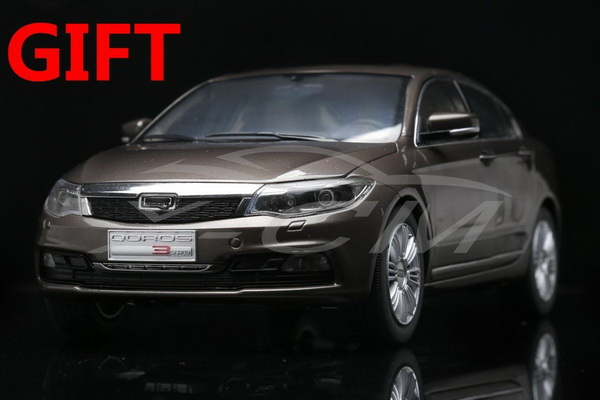 Модель 1:18 Chery QOROS 3 - Brown