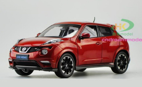 Модель 1:18 Nissan JUKE NISMO RS - Red