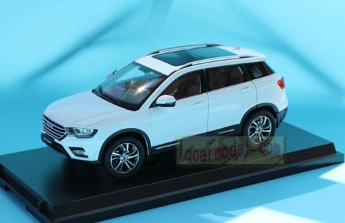 Модель 1:18 Great Wall Haval H6 Coupe - White
