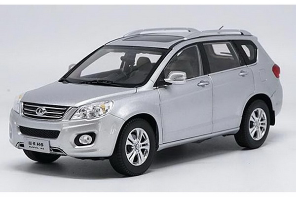 Модель 1:18 Great Wall Haval H6 2014 - Silver