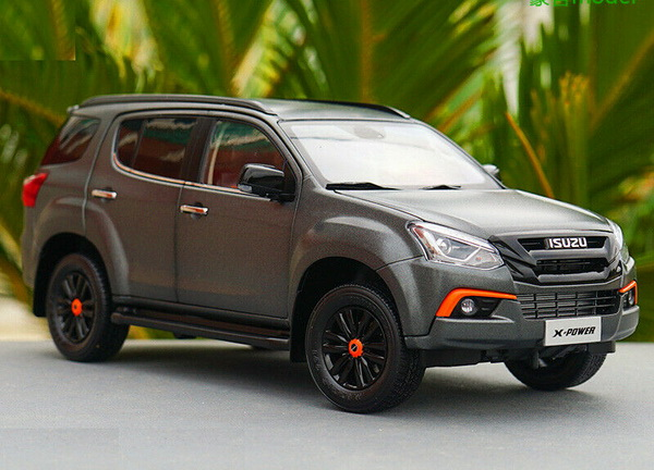 Модель 1:18 ISUZU MU-X X-POWER - Grey