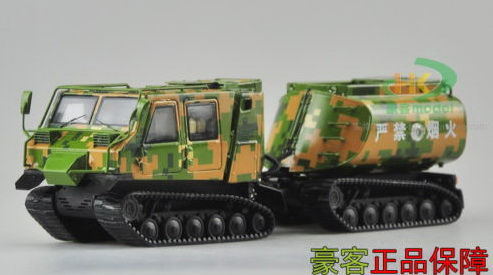 Модель 1:43 China army oil tank, Camouflage color