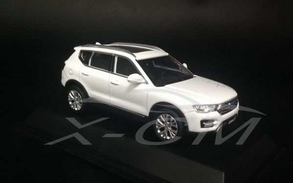 Модель 1:43 Great Wall Haval H7 - white