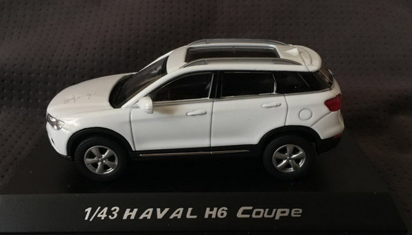 Модель 1:43 Great Wall Haval H6 Coupe - white