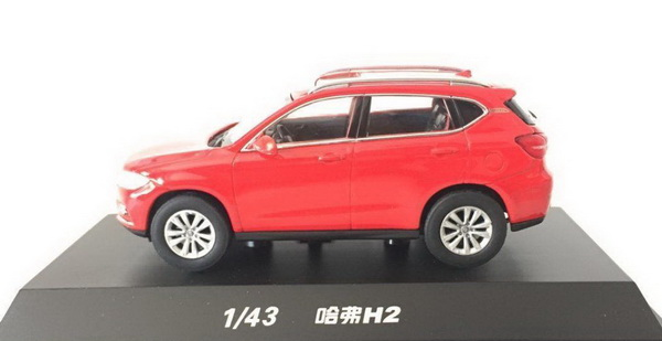 Модель 1:43 Great Wall Haval H2 - red