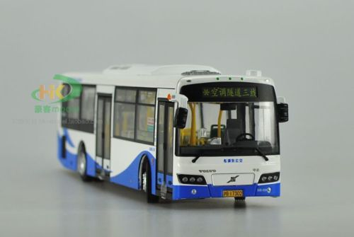 Модель 1:43 Sunwin Volvo City Bus - white/blue