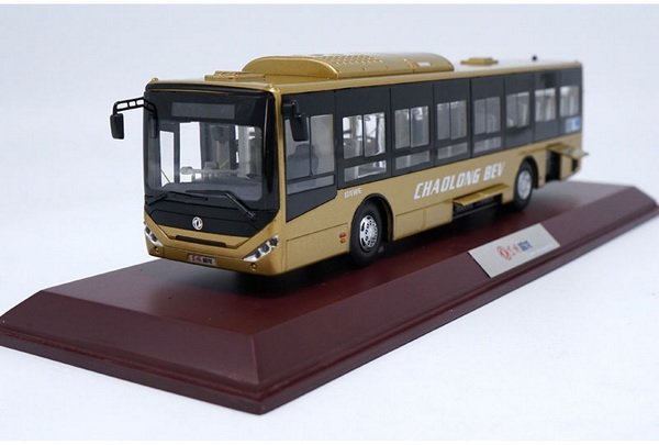 Модель 1:42 Dongfeng Chaolong BEV bus - Gold