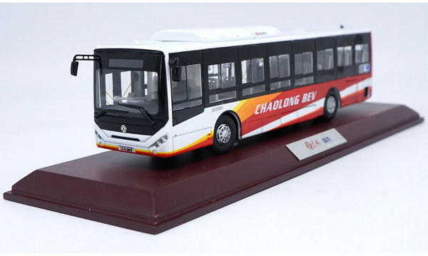Модель 1:42 Dongfeng Chaolong BEV bus - Red/white