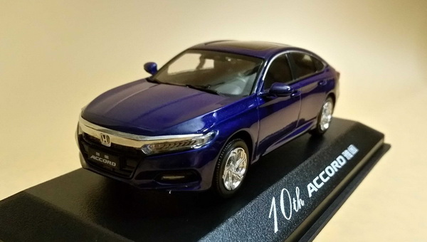 Модель 1:43 Honda Accord (X) - blue