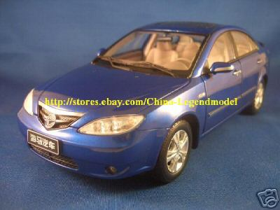 Модель 1:18 Haima 3 (China Mazda new 323) - black