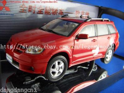 Модель 1:18 Mitsubishi Outlander - red
