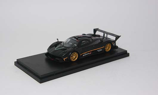 Модель 1:43 Pagani Zonda R Nurburgring Lap Time Record 6'47''50 - 29 june 2010 (Marc Basseng)