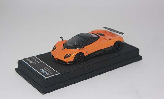Модель 1:43 Pagani Zonda F - orange/black carbon