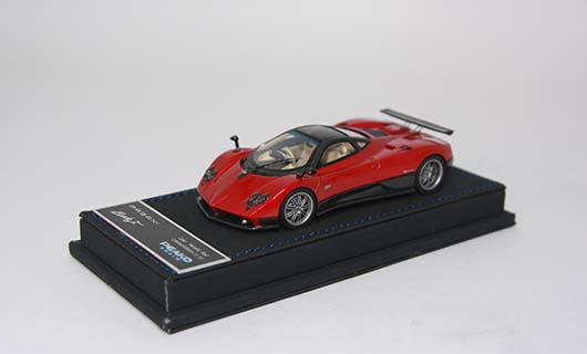 Модель 1:43 Pagani Zonda F - red/black carbon