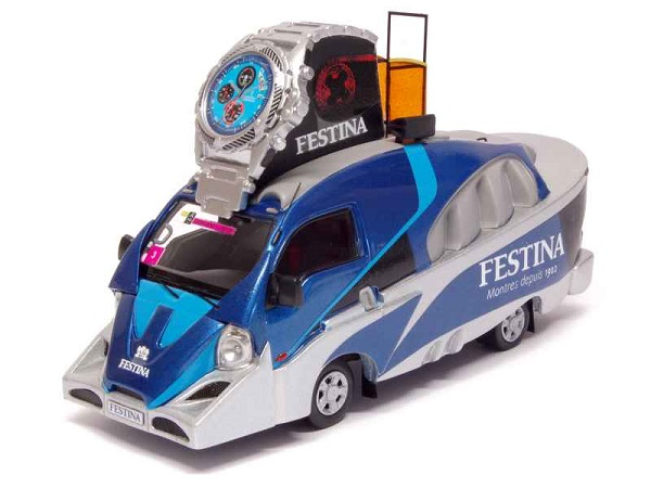 Модель 1:43 Kia Frontier Tour de France 2013 Festina/ Blue Watch