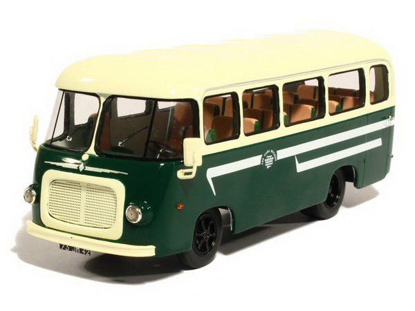 Модель 1:43 Renault Galion Bus Heuliez Buchet - green/cream