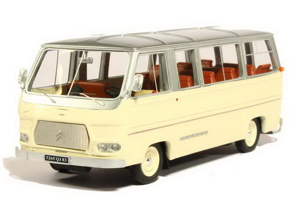 Модель 1:43 Citroen CH 14 Currus Bus - cream/silver (L.E.250pcs)