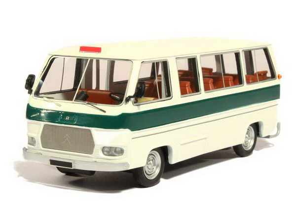 Модель 1:43 Citroen CH 14 Currus Bus Urbain - white/green (L.E.200pcs)