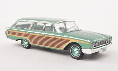 Модель 1:43 Ford Country Squire (L.E.) - green met/wood