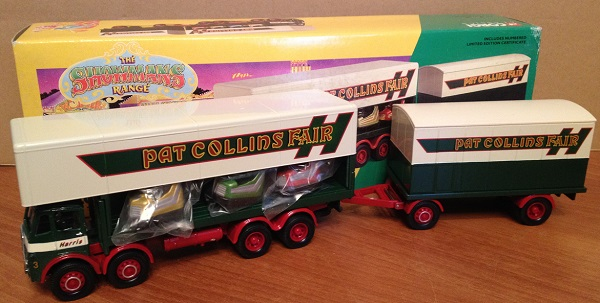 Модель 1:50 ERF Dodgem Truck & Box Trailer Set