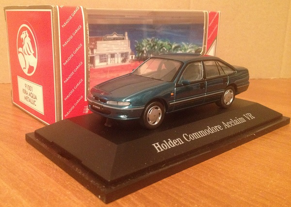Модель 1:43 Holden VR Commodore Acclaim (Kira Aqua Metallic)