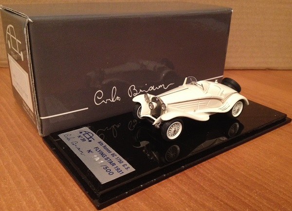 Модель 1:43 Alfa Romeo 6C 1750 GS FLYING STAR Touring - white