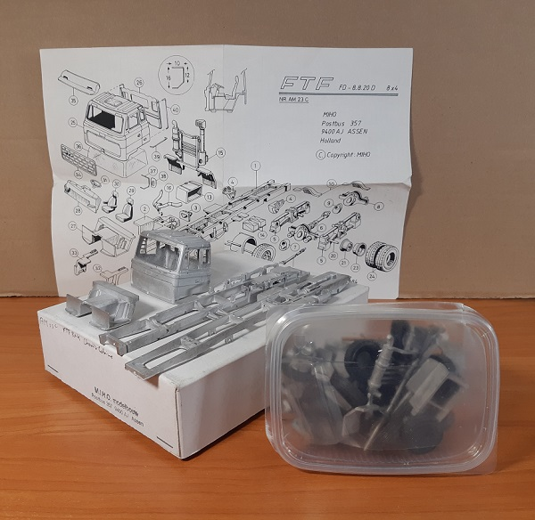 Модель 1:50 FTF FD-8.8.20D 8X4 (KIT)