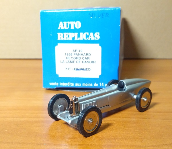 Модель 1:43 Panhard record car LA LAME DE RASOIR