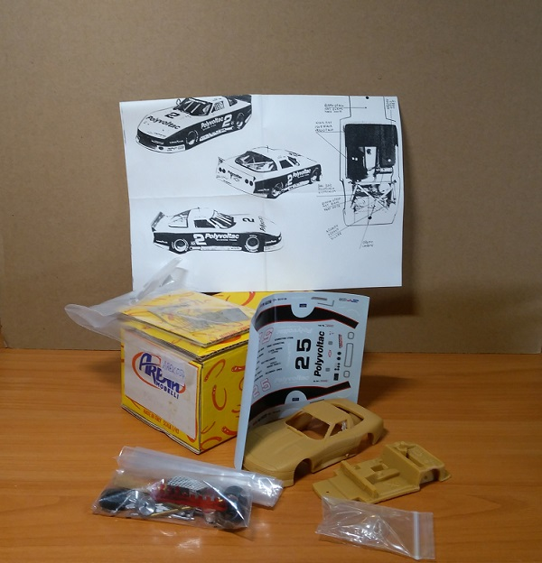 Модель 1:43 Chevrolet Corvette Polyvoltac IMSA 88 (KIT)