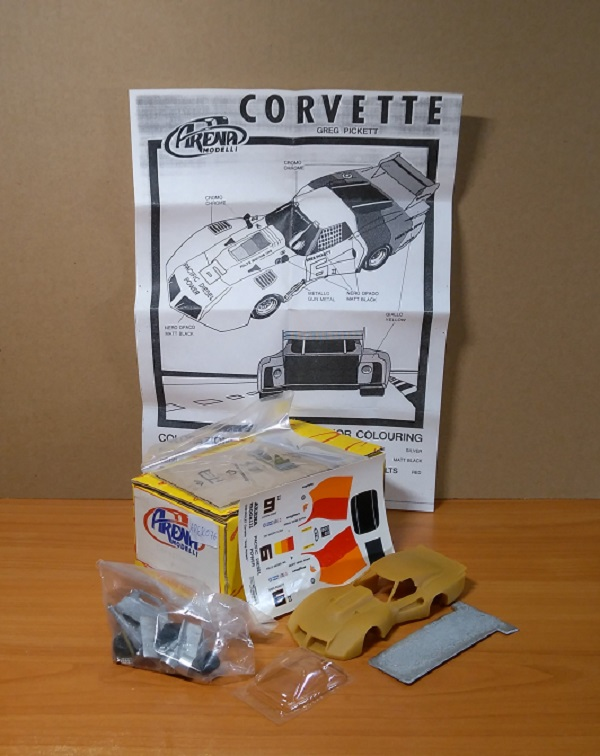 Модель 1:43 Chevrolet Corvette Greg Pickett (KIT)