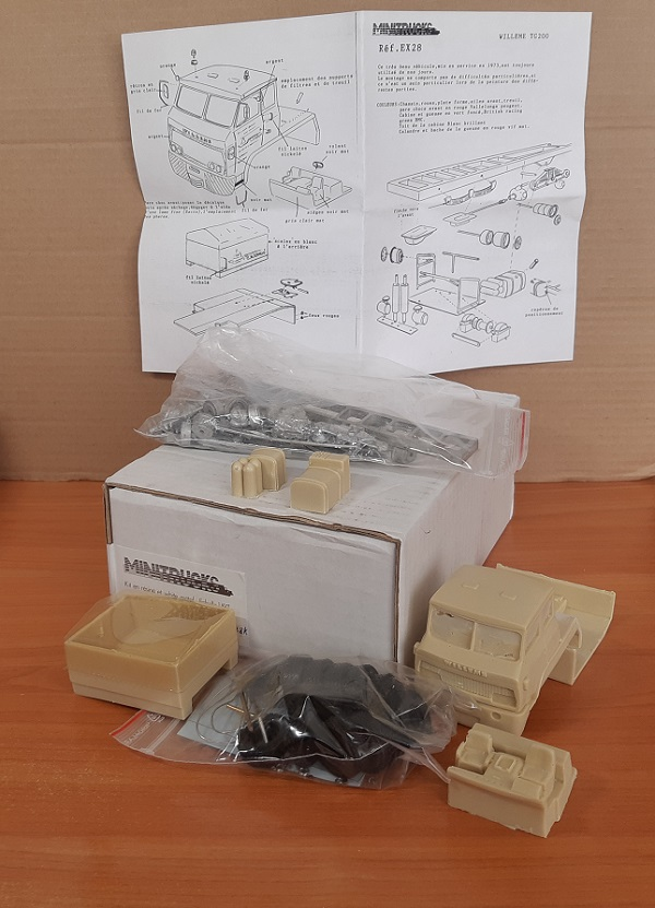 Модель 1:50 Willeme TG200 (KIT)