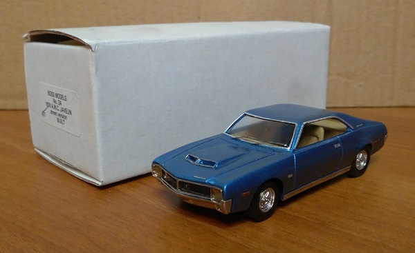 Модель 1:43 AMC Javelin Street Version - blue met