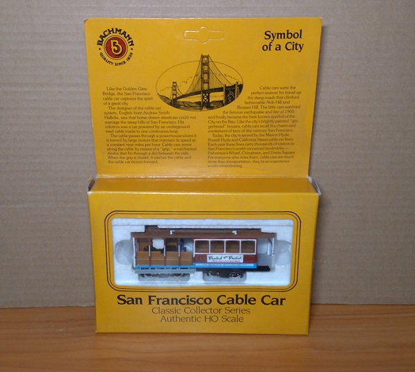 Модель 1:87 San Francisco Cable Car Beefeater